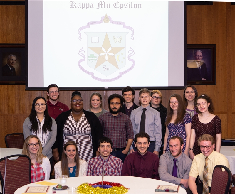 Kappa Mu Epsilon inductees