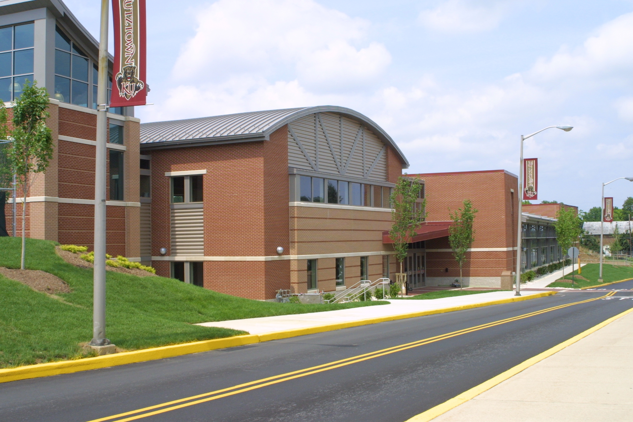Student Recreation Center Exterior View