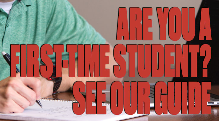 students walking together with sunset