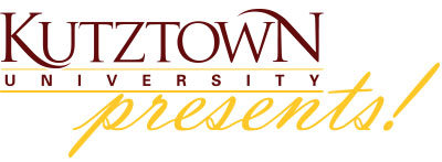 Kutztown Presents! logo